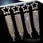 《Caroline》★韓國熱賣造型時尚  經典華麗款,宴會最佳選擇耳環70432