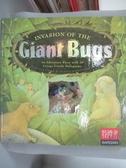 【書寶二手書T2/少年童書_PLV】Invasion of the Giant Bugs_A.J.Wood