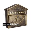Loxin【BL1398】自然風情-和平鴿鑄鐵信箱 大型信箱 鑄鐵信箱 信件箱 意見箱