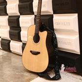 吉他背帶 吉他背帶吉他配件民謠背帶電吉他帶子男女個性肩帶 2色