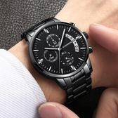 冠琴手錶男學生運動防水時尚潮流男錶 帶機械錶新款 英雄聯盟