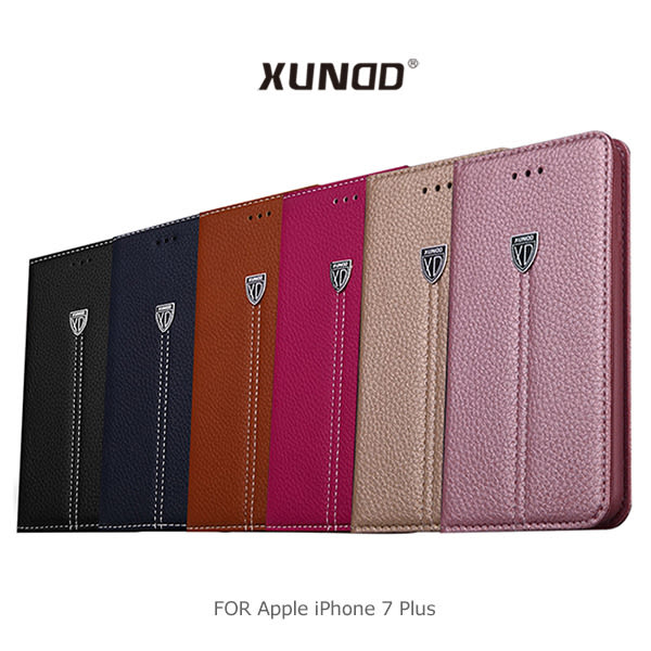 【愛瘋潮】 XUNDD 訊迪 Apple iPhone 7 Plus 貴族可立皮套 側翻皮套 保護套 手機殼