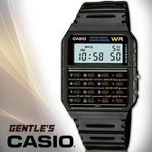 CASIO手錶專賣店卡西歐 DATA BANK系列 CA-53W-1Z 男錶 多功能資料記憶 塑膠錶帶
