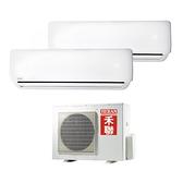 好購物 Good Shopping【禾聯】冷專定頻分離式冷氣空調HI-28B1 HI-50B1/HO2-2850B(2.8KW+5.0KW)