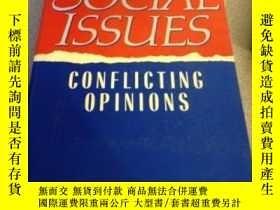 二手書博民逛書店Social罕見Issues: Conflicting Opin