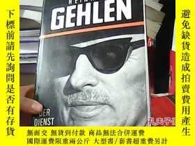 二手書博民逛書店REINHARD罕見GEHLEN19587 DER DIENST