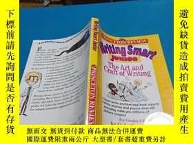 二手書博民逛書店英文原版罕見寫作藝術導論 Writing Smart Junio