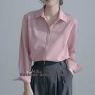 依多多 OL襯衫 設計感垂感高級襯衫氣質上衣