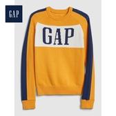 Gap男童活力亮色徽標LOGO針織衫524936-金黃色