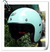 林森●GP-5安全帽,3/4帽,復古帽,338,隱藏式墨片,素色/淡綠