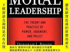 二手書博民逛書店Moral罕見LeadershipY364682 Warren Bennis John Wiley &