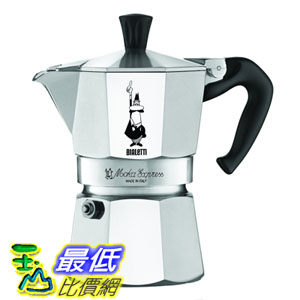 [103美國直購] Bialetti 6801 Moka Express 9-Cup Stovetop Espresso Maker 經典摩卡壺(MOKA) 9 杯份