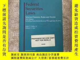 二手書博民逛書店Federal罕見Securities Laws 美國聯邦證券法
