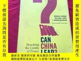 二手書博民逛書店Can罕見China Lead?: Reaching the Limits of Power and Growth