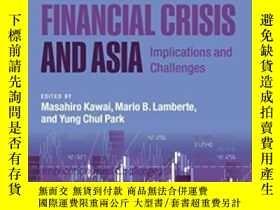 二手書博民逛書店The罕見Global Financial Crisis And Asia: Implications And C