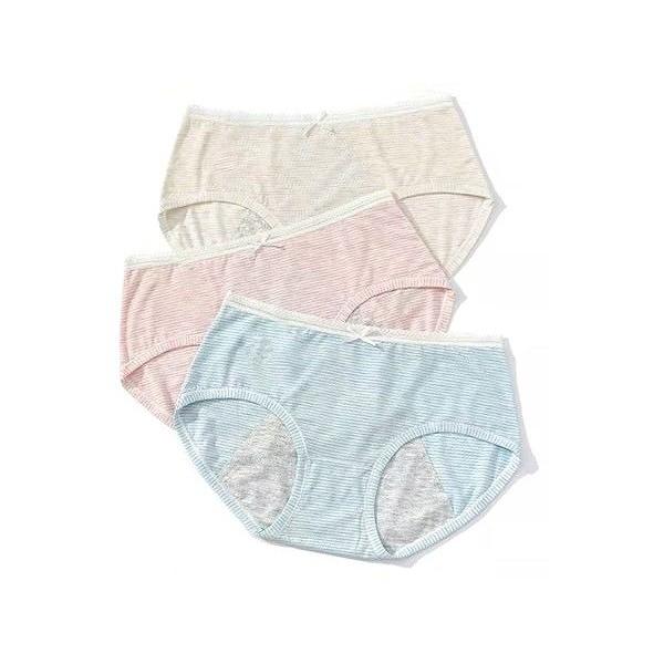夢境快轉莫代爾條紋生理褲(1件入) 款式可選【小三美日】