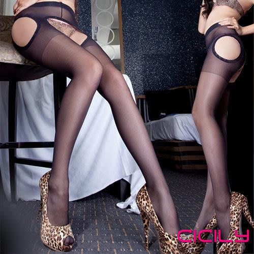 CICILY唯美情境免脫性感顯瘦連褲襪N3-0091