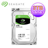 【Seagate】BarraCuda 新梭魚 3TB 3.5吋桌上型硬碟 (ST3000DM007)