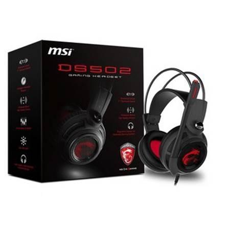 微星 MSI DS502 GAMING Headset 職業級震動電競耳機