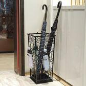 雨傘架酒店飯店商場食堂鐵藝折疊收納桶放傘架子銹zh1328【極致男人】