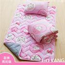 【HO KANG】迪士尼正版授權 三件式兒童睡墊組-甜美瑪莉貓