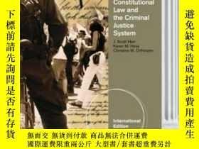 二手書博民逛書店Constitutional罕見Law And The Criminal Justice System Inter