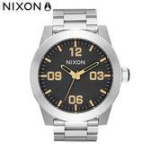 NIXON 手錶 原廠總代理 A346-2730 CORPORAL 潮流時尚鋼錶帶 男女適用 運動 生日 情人節禮物