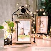 創意相框擺台個性像框木質六 6寸可愛ins現代輕奢小擺件水培簡約 韓慕精品 YTL