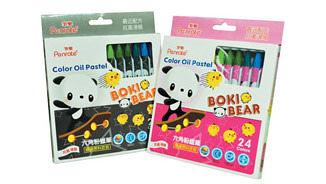 筆樂 Penrote PG7916 BERRY BABE 24色六角粉蠟筆-12盒入 / 盒