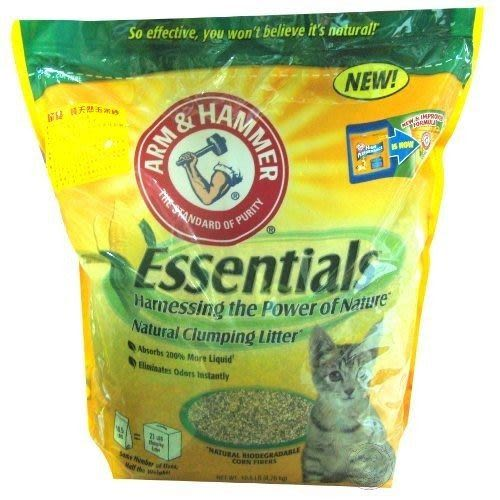 【 ZOO寵物樂園 】鐵鎚牌》凝結天然玉米貓砂 (10.5磅/包)