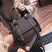 大包包女2021網紅新款潮復古韓版百搭斜挎女包水桶包手提包 【快速出貨】