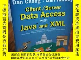 二手書博民逛書店DATA罕見ACCESS JAVA AND XML CLIENT