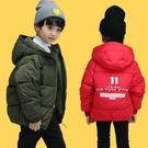 限定款厚外套 鋪棉童裝兒童羽絨棉服保暖外套冬裝男童棉襖加厚女童棉衣連帽