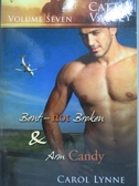 【書寶二手書T5/原文小說_OLK】Bent, Not Broken-AND Arm Candy_Carol Lynne