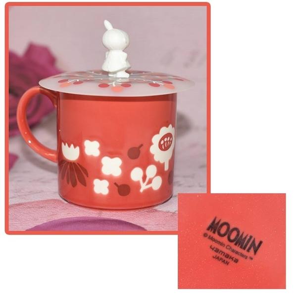 MOOMIN 嚕嚕米 小不點亞美 含蓋陶瓷馬克杯 正版 日本製