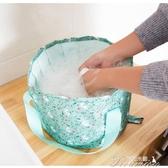 折疊水桶-泡腳盆可折疊戶外折疊桶便攜式洗臉洗衣出差旅行泡腳桶水盆泡腳袋  提拉米蘇