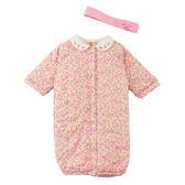 【愛的世界】鋪棉玫瑰兩用嬰衣/3~6個月-台灣製- ★幼服推薦