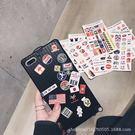 【SZ25】創意貼紙行李箱 iPhone...