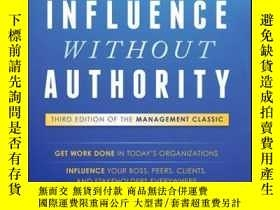 二手書博民逛書店Influence罕見Without Authority, 3rd EditionY410016 Allan