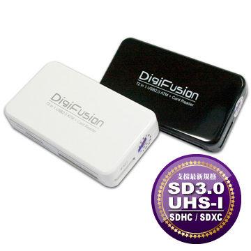[富廉網] 伽利略 RU054(G-C230) DigiFusion ATM 72 in 1 多插槽讀卡機