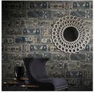 懷舊個性美元老貨幣紙幣美式牆紙客廳背景牆...