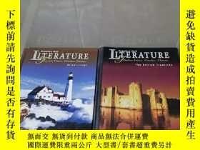 二手書博民逛書店prentice罕見hall literature 兩冊合售Y312914 如圖 如圖