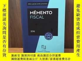 二手書博民逛書店MEMENTO罕見FISCAL 2015Y12800 FRANC