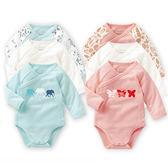 【618好康鉅惠】純棉嬰兒衣服連身衣寶寶三角哈衣包屁衣
