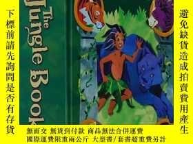 二手書博民逛書店英文原版The罕見Jungle Book A Pop-Up 奇幻