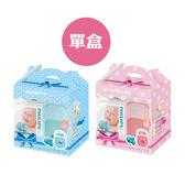 PHILIPS 飛利浦 3號奶嘴(香草/天然)+Baby Garden 安撫奶嘴收藏盒(小紅象/小藍鯨)【佳兒園婦幼館】