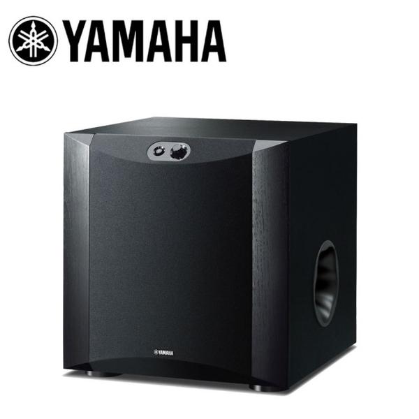 【領$200 結帳再折扣】YAMAHA NS-SW300 超低音喇叭 原色黑 高效能功率擴大機 公司貨