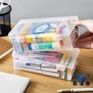 抽屜整理透明塑料收納盒長方形分隔桌面儲物盒【古怪舍】