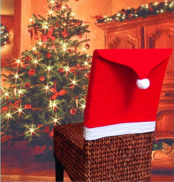 熱賣精品 聖誕椅套 TD椅子套 聖誕節用品餐桌裝飾 聖誕裝飾品─預購CH2414