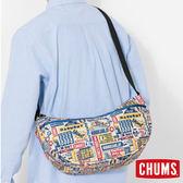 CHUMS 日本 Eco 休閒肩背包 嬉皮 CH600847Z075